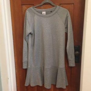 Cabi grey sweatshirt dress